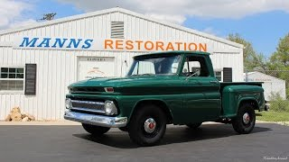 1964 Chevrolet C10 Stepside from Manns Restoration