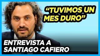 """""""El aumento jubilatorio de marzo va a ser de suma fija. Achataremos la pirámide"""" Santiago Cafiero"""