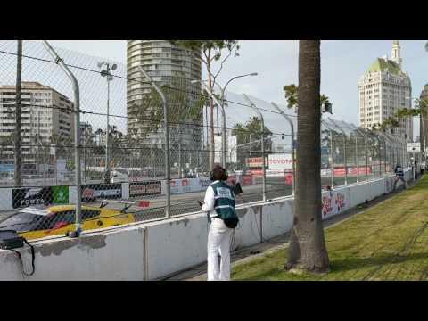IMSA free practice Long Beach Grand Prix