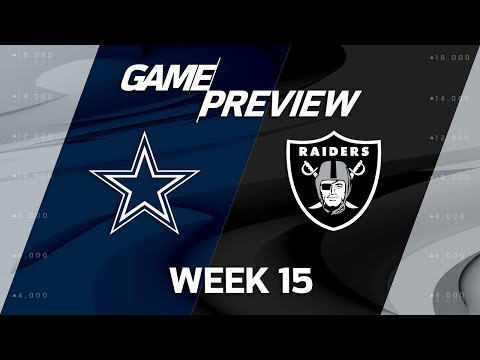 Dallas Cowboys vs. Oakland Raiders | NFL Week 15 Game Previews | MTS