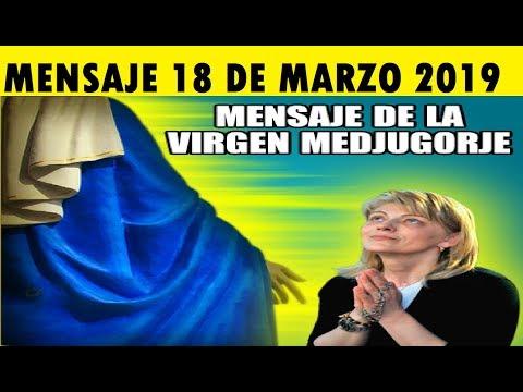 MEDJUGORJE MENSAJE DE LA VIRGEN MARIA 18 DE MARZO 2019 A MIRJANA BOSNIA HERZEGOVINA