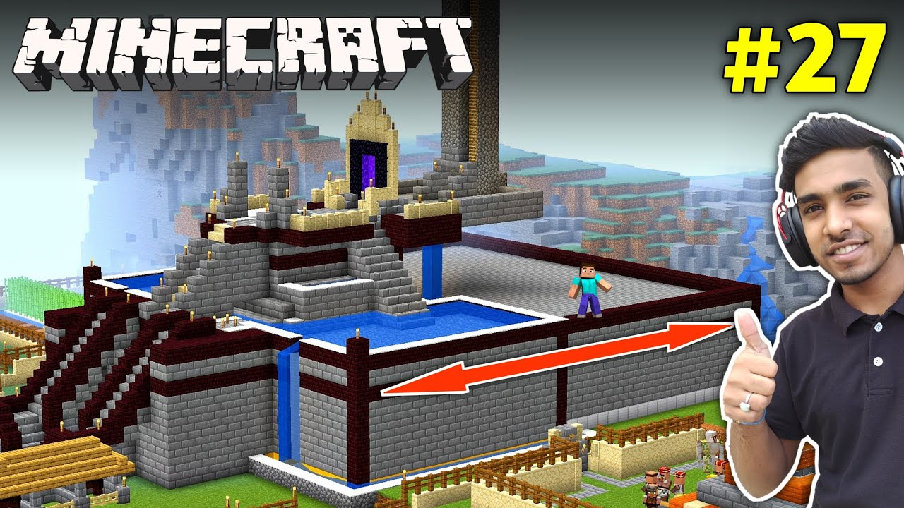 Download I EXPAND MY CASTLE LENGTH | MINECRAFT GAMEPLAY #27