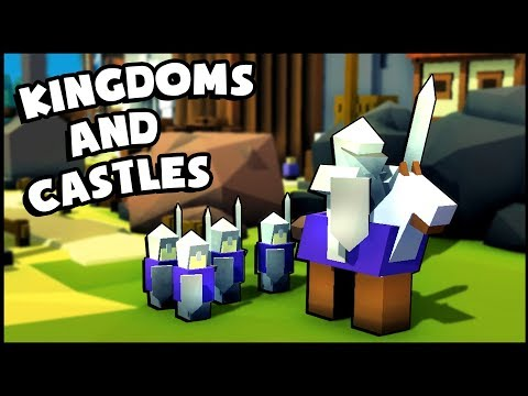 THE ROYAL GUARD! Can 6 Men Protect An Entire Kingdom? Ships & Ports (Kingdoms and Castles Gameplay)