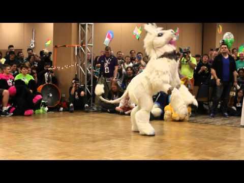 Isabelle Unicorn - BLFC 2014 Fursuit Dance Competition