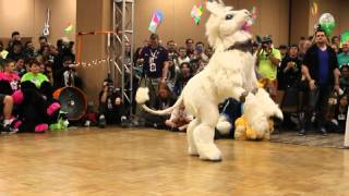 Isabelle Unicorn - BLFC 2014 Fursuit Dance Competition