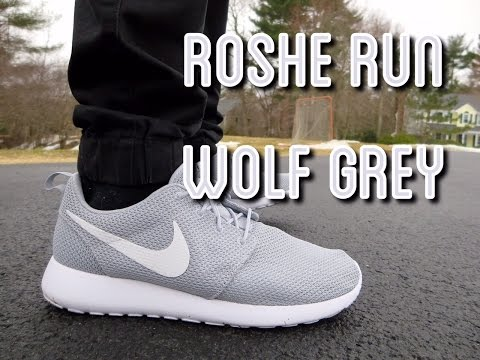 9402d3f044e4 Classic Roshes grey - YouTube