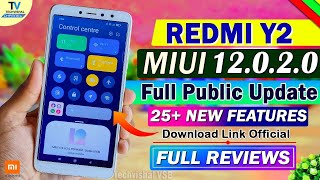 MIUI 12.0.2.0 New Stable Update Redmi Y2 Full Review   25+ New Features   Redmi Y2 MIUI 12 Update