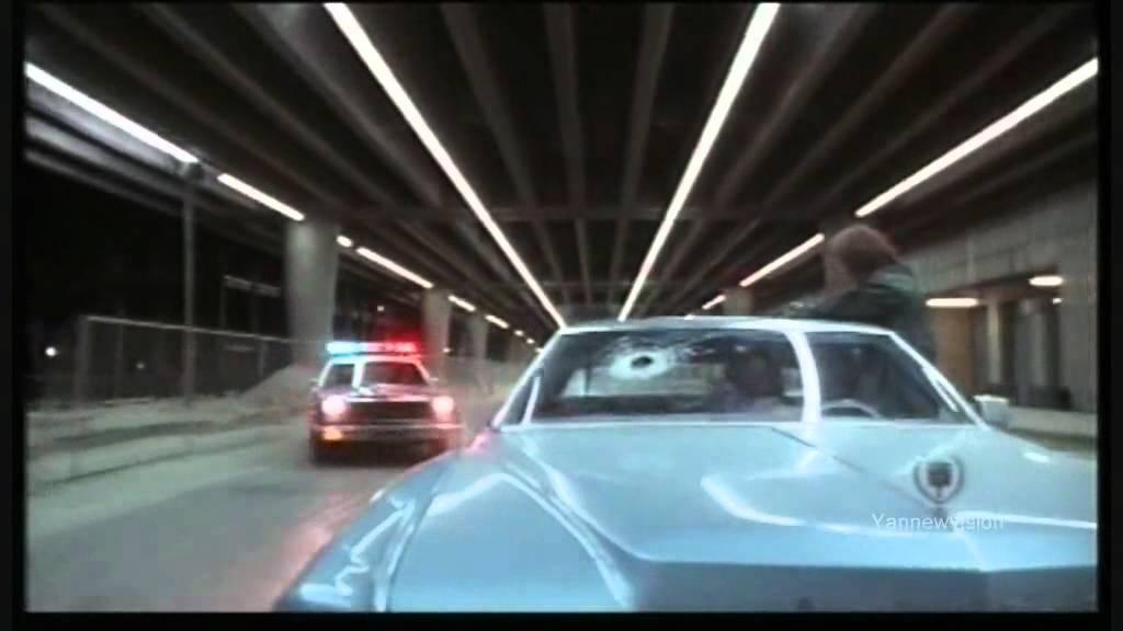 THE TERMINATOR - CAR CHASE (Dodge Monaco vs Cadillac) 1984.mp4 - YouTube