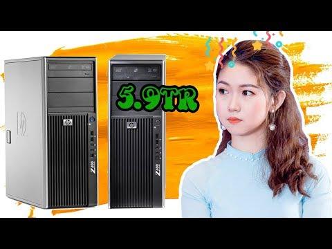 HP Workstation Z400 - Máy tính PC đồng bộ chuyên xử lý công việc nặng | Foci