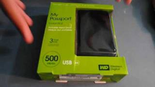 Western Digital My Passport Essential Hard Drive 500 GB- Review