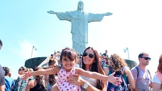 Bia Lobo VLOG no Cristo Redentor Rio de Janeiro