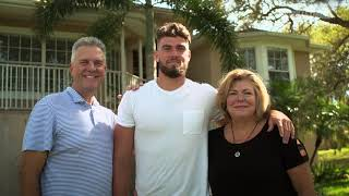 #BULLSTRONG: Inside USF Football - Mitchell Wilcox || Tarpon Springs Hometown Visit