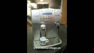 Saeco Incanto Deluxe espresso maker