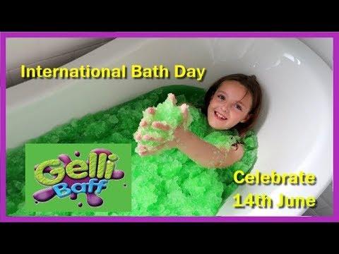 CELEBRATING INTERNATIONAL BATH DAY WITH GELLI BAFF