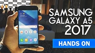 Samsung Galaxy A5 2017 | Indian Retail Unit | Hands On First Look