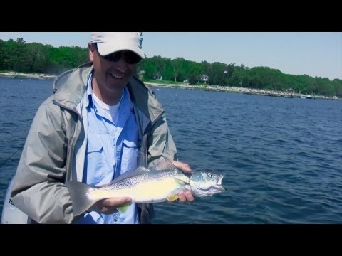 Saltwater Fishing Tips for Bluefish and Weakfish - Jigging with the Only Jig that Flexes