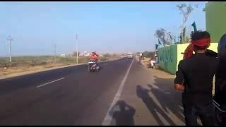 Varvada bike race
