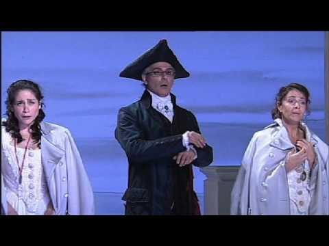 Opera : Cosi Fan Tutte Trio Rinat Shaham,  Mozart opera
