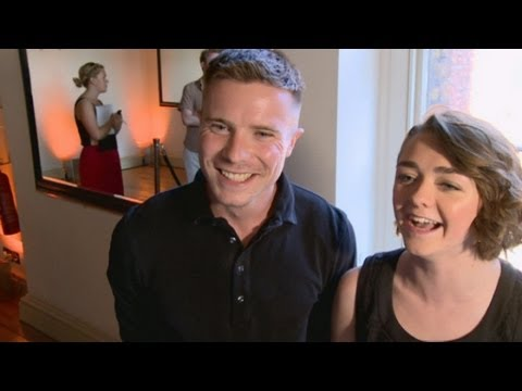 : Maisie Williams Arya Stark and Joe Dempsie Gendry talk Game of Thrones