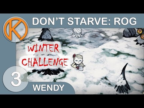 FIRST SNOW - Ep. 3 | Don't Starve: RoG - Winter Challenge | Steam Gameplay / Let's Play