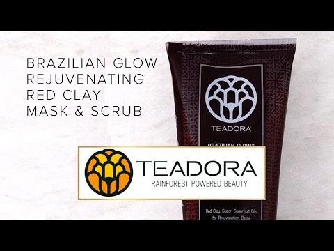 Teadora Beauty Commercial - Brazilian Glow Rejuvenating Red Clay Masque & Scrub