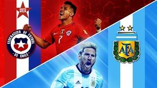Argentina 1- 0 Chile | Eliminatorias Rusia 2018 | Claudio Palma