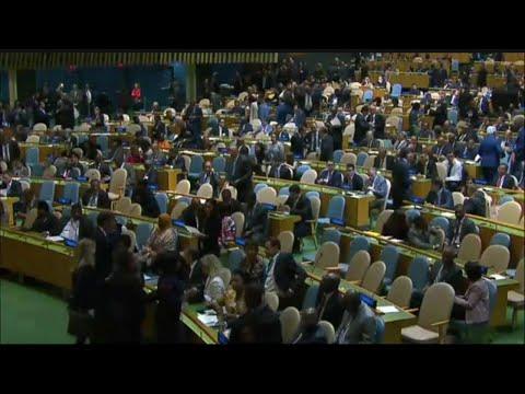 Afrique, 72ÈME ASSEMBLÉE GÉNÉRALE DE L'ONU