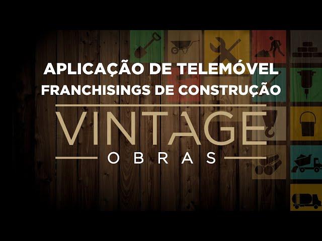 Aplicação de telemóvel - Franchisings de Obras Vintage e Casa Amarela Obras