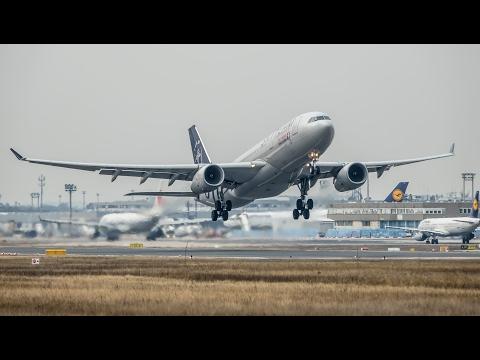 Planespotting Frankfurt Airport 2017
