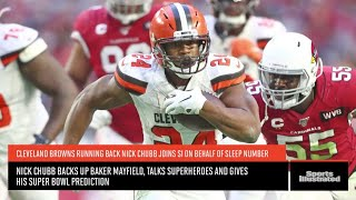 Nick Chubb Is A Big Believer In The Browns, Baker Mayfield And... Ben Affleck?