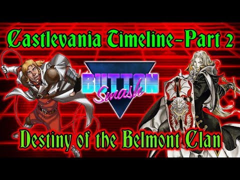 The Castlevania Timeline Part 2: Destiny of the Belmont Clan