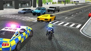 Police Car Driving Motorbike Riding Simulator  | Police Chase - Android GamePlay HD