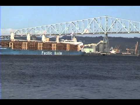 Pacific Basin Log Ship