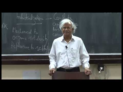 Mod-01 Lec-11 Sociology of work-I: Need for work