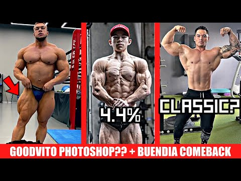 Tristyn Lee Clocks in at 4.4% Bodyfat?! + GoodVito's Response to Photoshop + Jeremy Buendia Classic