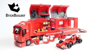 LEGO Speed Champions 75913 Ferrari Truck - Speed Build for Collecrors - Full Collection (27/39)