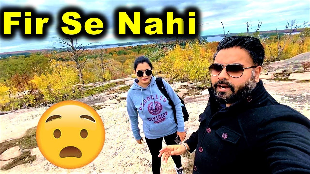 We Are Lost Again ☹ | Canada Couple Vlogs
