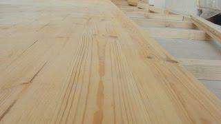 Укладка доски пола(Укладка доски пола на бетонное основание, особенности и тонкости процесса за две минуты., 2015-01-31T23:16:04.000Z)