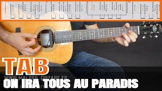 Polnareff - On ira tous au paradis Tablature guitare