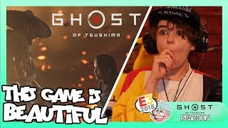 Ghost of Tsushima E3 (Reaction) THIS GAME IS SO BEAUTIFUL!