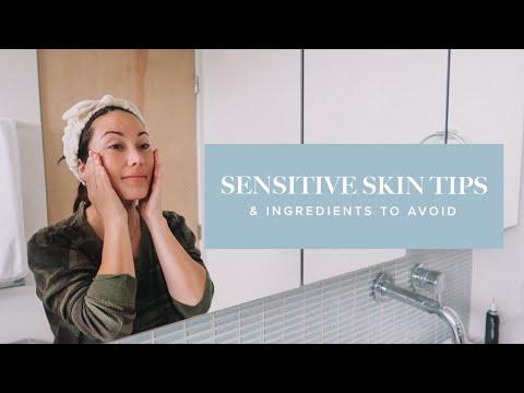 Ingredients to Avoid When You Have Sensitive Skin & Sensitive Skin Tips! | Susan Yara - YouTube