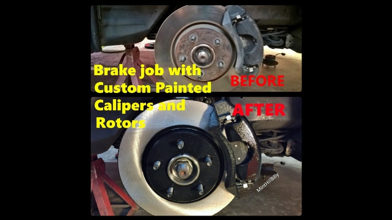 Brembo Brake Pads >> Replacing Front Brake Pads and Rotors with Complete Guide ...