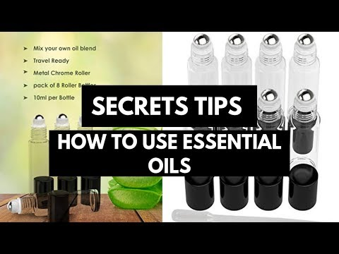 Best Quality Essential Oils Roller Glass Bottles Review 2018   Clean/Empty Essential Oil Accessories