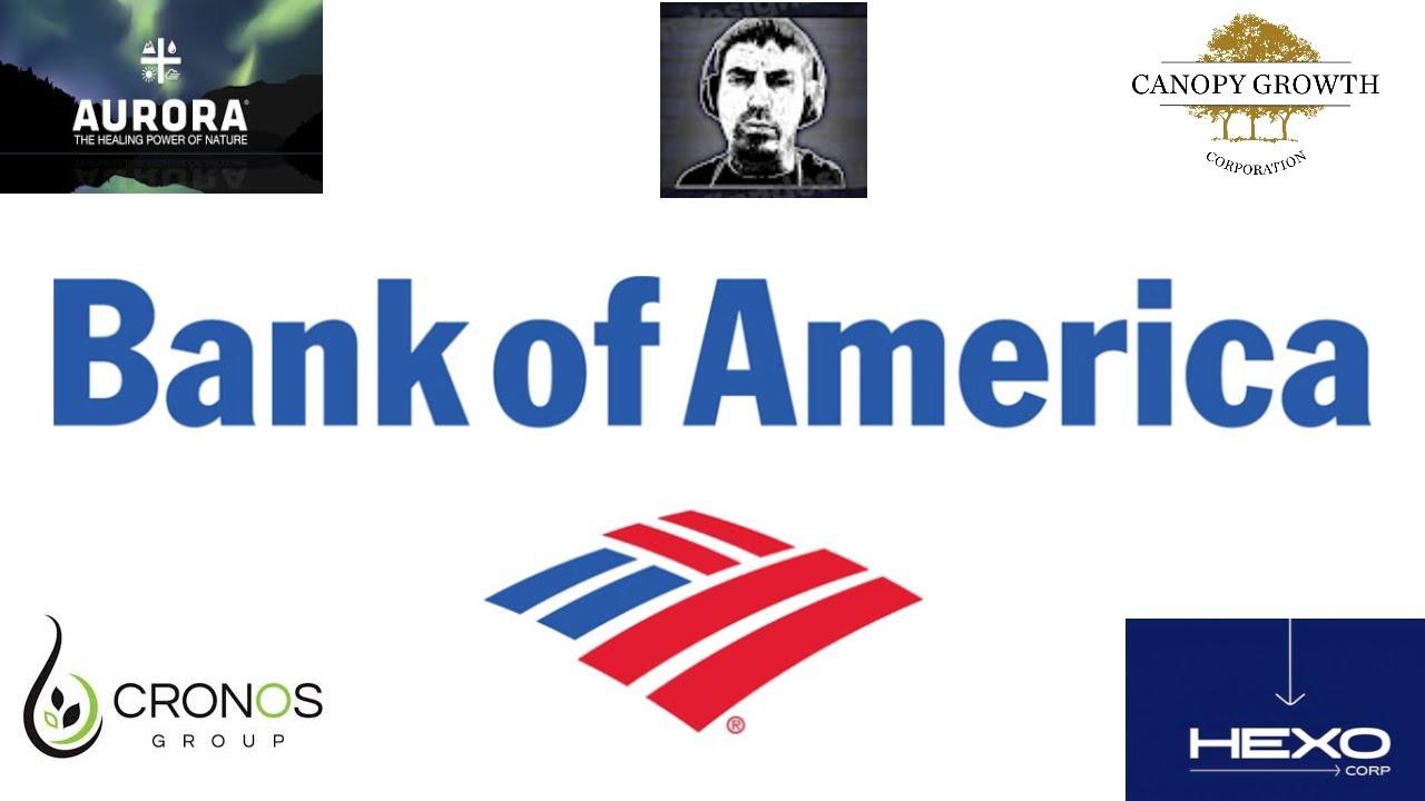 🌿ACB, CRON, CGC & HEXO Stock | Bank Of America Price Targets 🌿