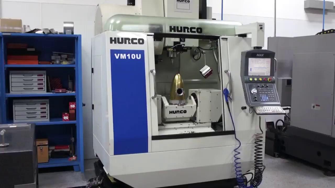 SOLD!! 2012 Hurco VM-10U 5-Axis Vertical Machining Center