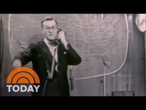 TODAY's First Weather Forecast: Jan. 14, 1952 | Archives | TODAY