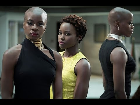 Dark Skinned Black Female Promotion in Black Panther - Review & Analysis
