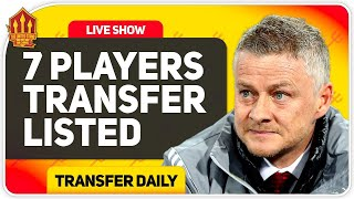 Solskjaer's BIG Transfer Clear Out! Sancho Latest! Man Utd Transfer News
