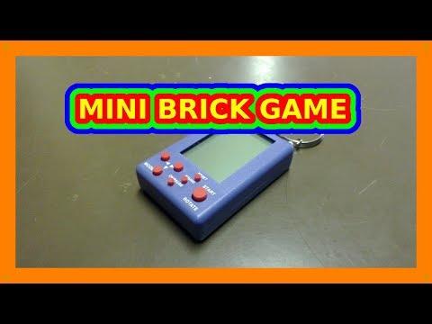 MINI BRICK GAME  8 Games - LCD Game Handheld Tetris M0019