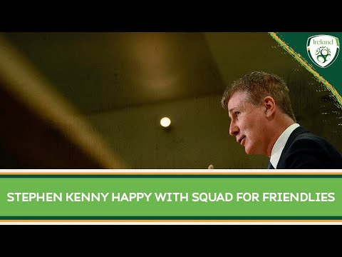 Stephen Kenny happy with squad for June friendlies